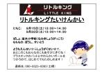 ★友遊ボール体験会開催予定★
