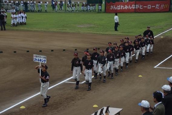 第24回我孫子近隣交流少年野球大会開幕!